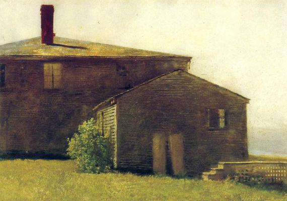 Jamie Wyeth. Morning, island Monhegan