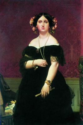Jean Auguste Dominique Ingres. Portrait of Madame Matise