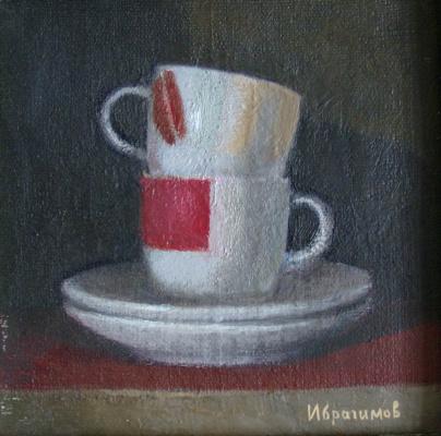 Alexander Ibragimov. Cup for cappuccino.
