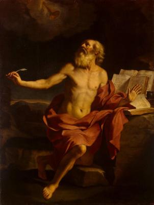 Джованни Франческо Гверчино. Святой Иероним в пустыне