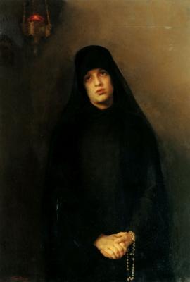 Варвара Матвеевна Баруздина. Монахиня