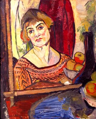 Suzanne Valadon. Self-portrait