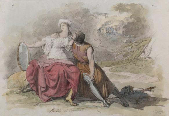 Francesco Ayets. Rinaldo and Armida