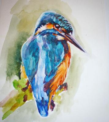 Veronica Oparina. Kingfisher