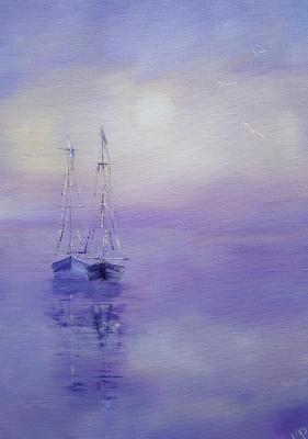 Irina Stukaneva. Boats. Proximity