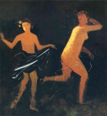 Andre Derain. Nude