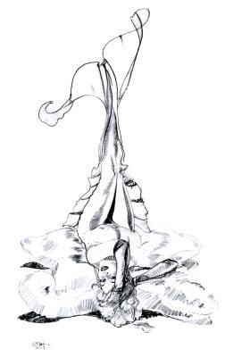 Оливия Де Берардинис. Пин-ап 288