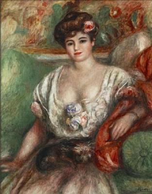 Портрет Мизии Серт (Девушка с грифоном)
