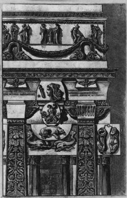 Джованни Баттиста Пиранези. Различные архитектурные произведения, лист 5