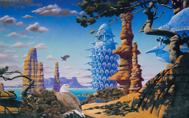 Roger Dean. In the world of a great dream