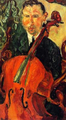 Haim Solomonovich Soutine. Cellist (Serewicz)