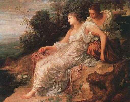 George Frederick Watts. Ariadne on the island of Naxos