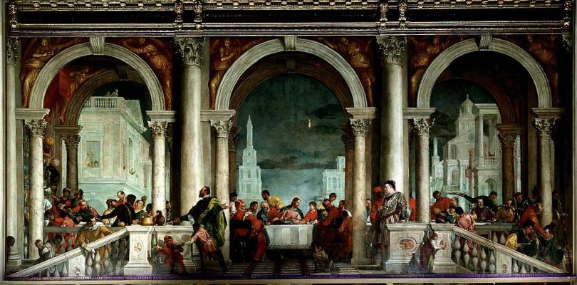Паоло Веронезе. Библейская сцена
