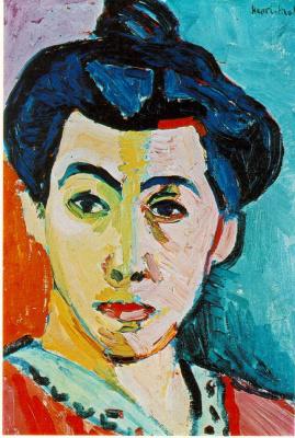 Анри Матисс. Портрет женщины