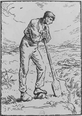 Jean-François Millet. Resting worker