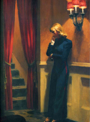 Edward Hopper. New York theater (partial)