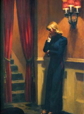 Edward Hopper. New York theater (partial)