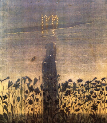 "Mikalojus Konstantinas Ciurlionis. From the series ""Zodiac Signs"". Virgin"