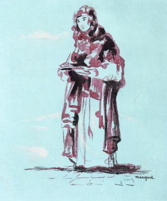 Albert Marquet. The Berber