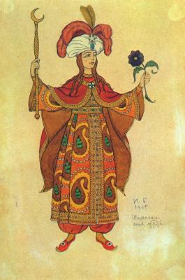 Иван Яковлевич Билибин. Шемаха королевы