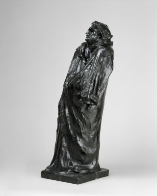 Auguste Rodin. The final study for the monument to Balzac