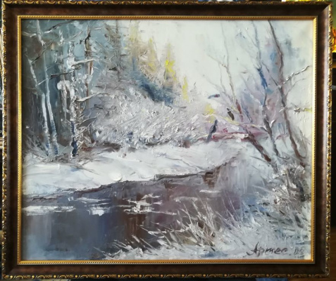 Olga Yuryevna Serebrova-Artes. Winter