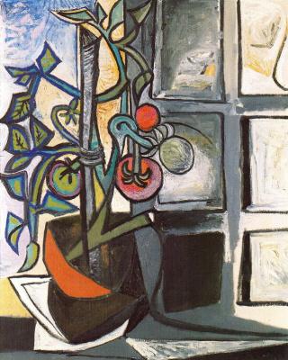 Пабло Пикассо. Окно