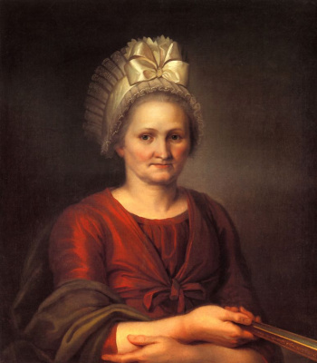 Alexey Gavrilovich Venetsianov. Portrait A. L. Venetsianova, mother of the artist