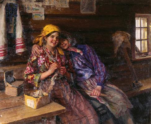 Федор Васильевич Сычков. Подружки. 1930