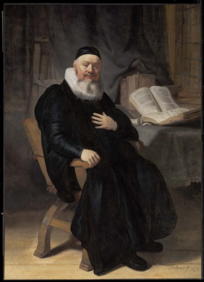 Рембрандт Харменс ван Рейн. Преподобный Йоханнес Элисон