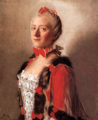 Jean-Etienne Lyotard. Portrait of a court lady