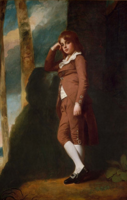 George Romney. Portrait of John Thornhill