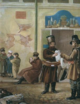 Игнатий Степанович Щедровский. Продавец сбитня. Около 1840