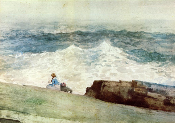 Winslow Homer. North-East wind