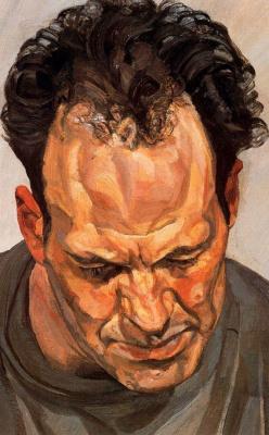 Lucien Freud. Frank Auerbach
