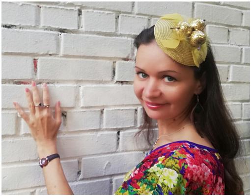 Natalia Vladimirovna Solntseva. Golden apple rim