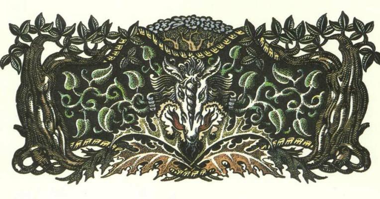 Кей Нильсен. Иллюстрация к сказке Валиант-портняжка