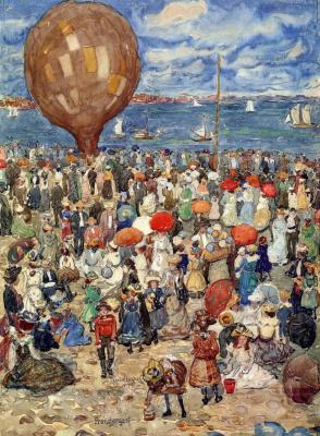 Maurice Braziel Prendergast. Balloon