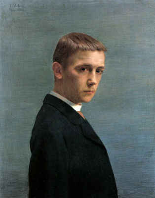 Felix Vallotton. Self-portrait at the age of 20
