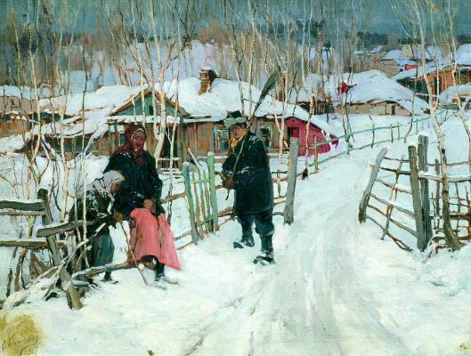 Степан Федорович Колесников (Одесский). Околица