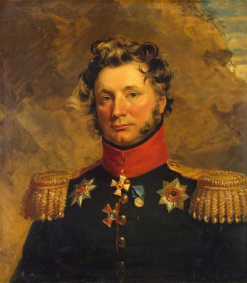 George Dow. Portrait of Matvey Ivanovich von der Palen