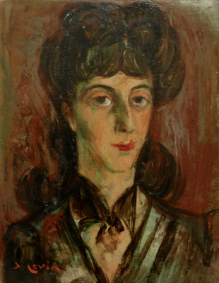 Иосиф Михайлович Левин. Портрет дочери
