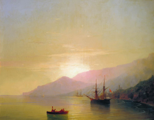 Ivan Aivazovsky. Ships at anchor