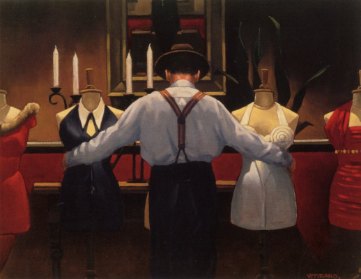 Jack Vettriano. Such is love