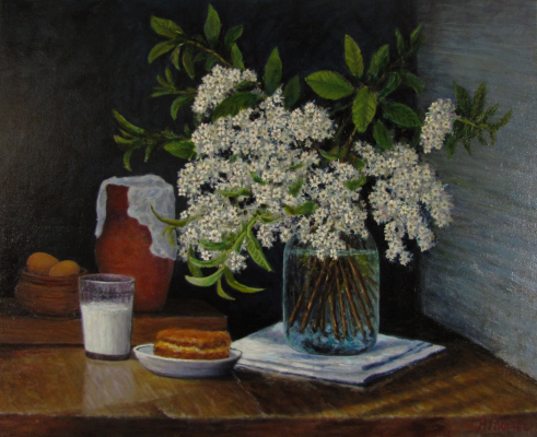 Andrew Lumez. Bird cherry