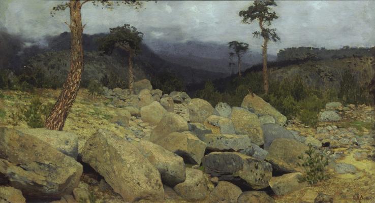 Исаак Ильич Левитан. В крымских горах
