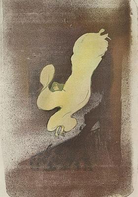 Henri de Toulouse-Lautrec. Miss Loie Fuller