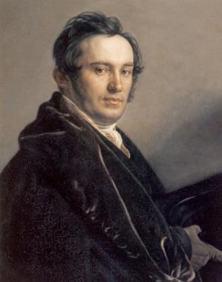 Alexander Grigorievich Varnek. Portrait Of Vasily Ivanovich Grigorovich