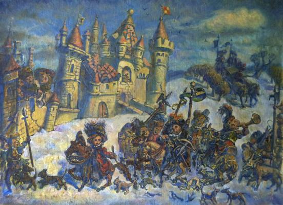 Daniil Litvinov. Возвращение с охоты