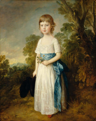 Thomas Gainsborough. Master John Heathcote